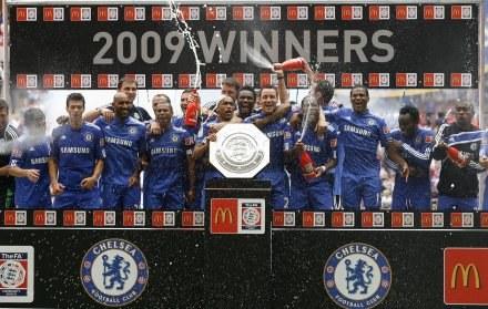 Piłkarze Chelsea Londyn zdobyli Tarczę Wspólnoty /AFP