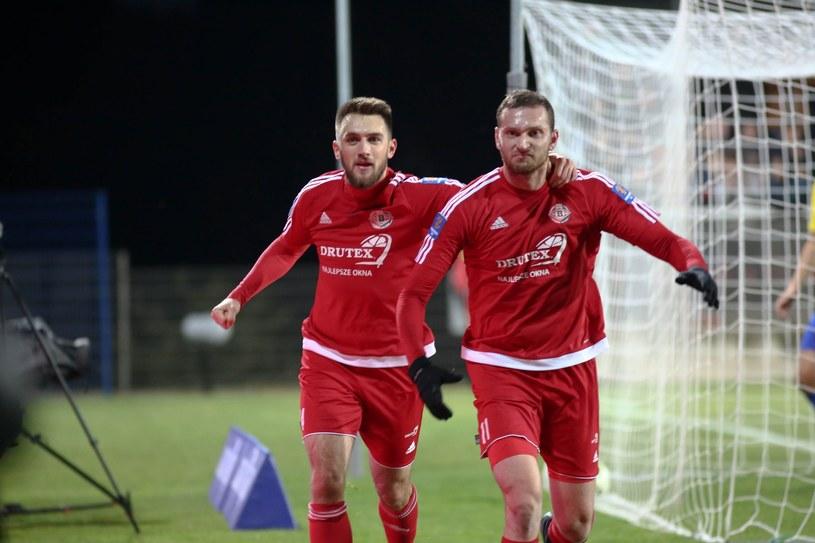 Piłkarze Drutex-Bytovii /Piotr Hukało /East News