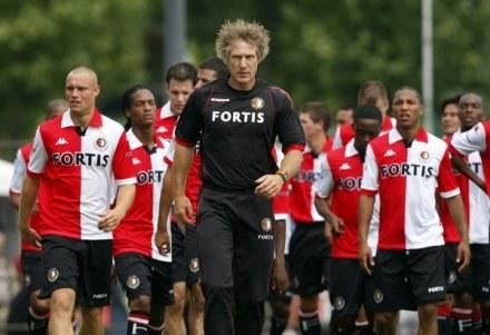 Piłkarze Feyenoordu Rotterdam /AFP