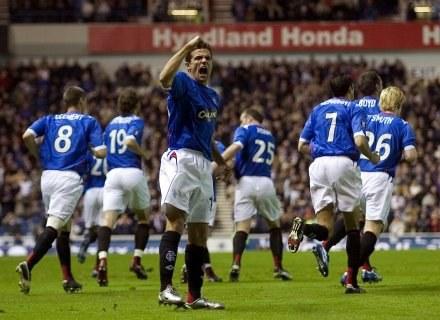 Piłkarze Glasgow Rangers mogą stanąć na drodze mistrza Polski /AFP