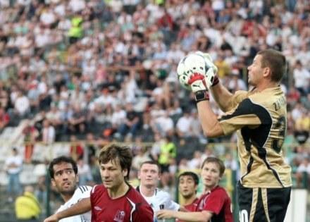 Piłkarze grali, a kibice wznosili antyrosyjskie hasła. Sprawę zbada UEFA / fot. Piotr Kucza /Agencja Przegląd Sportowy