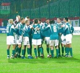 Piłkarze Groclinu mogą świętować kolejne zwycięstwo /legia.net