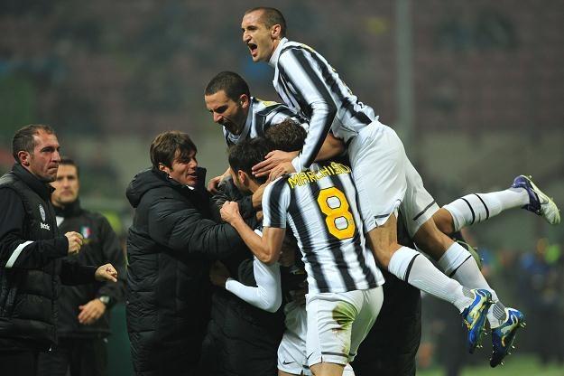 Piłkarze Juventusu Turyn /AFP