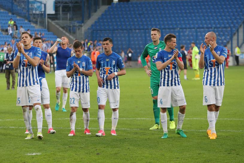 Piłkarze Lecha wierzą, że mogą zdobyć mistrzowski tytuł /Jakub Piasecki /Newspix