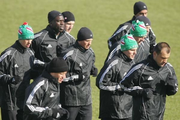 Piłkarze Legii mają ogromny apetyty na mistrzostwo/fot. Maciej Śmiarowski /Agencja Przegląd Sportowy