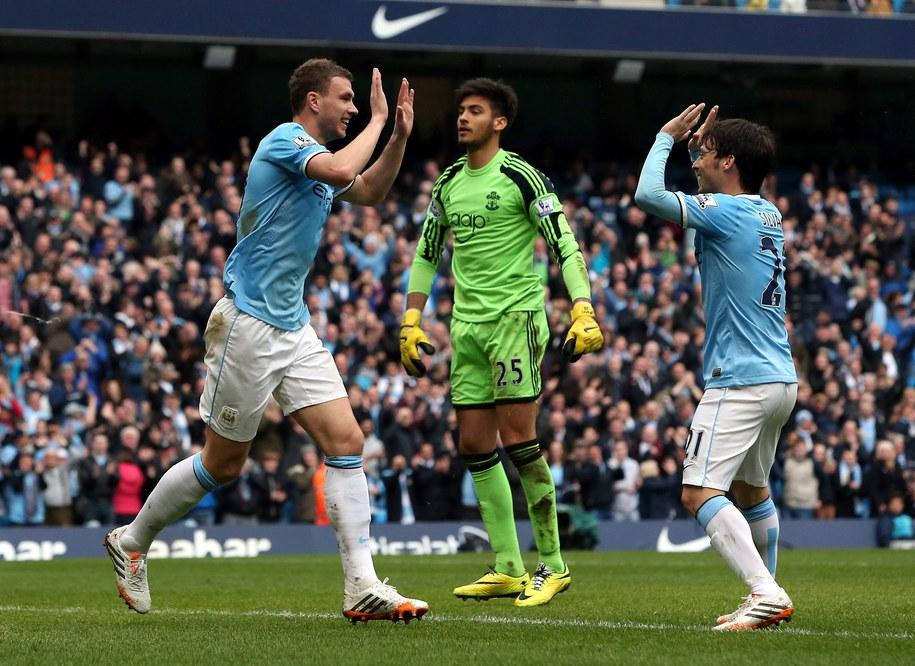Piłkarze Manchesteru City zarabiają najwięcej /DAVID JONES  /PAP/EPA