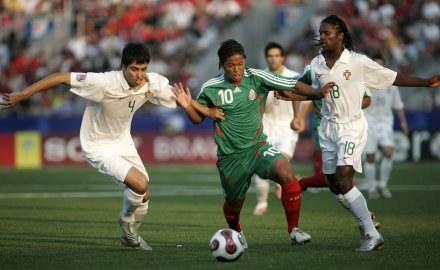 Piłkarze Meksyku pokonali Portugalię /AFP