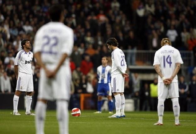Piłkarze Realu Madryt i Barcelony uczczą pamięć ofiar katastrofy /AFP