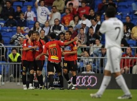 Piłkarze Realu Mallorca /AFP