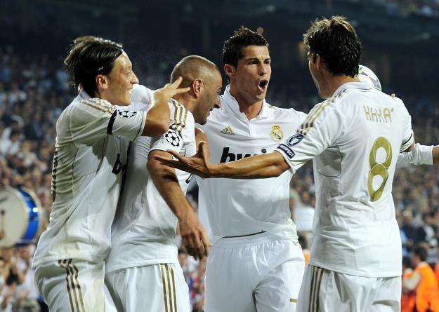 Piłkarze Realu strzelili we wtorek trzy gole /AFP