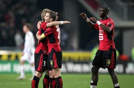 Piłkarze Rennes niespodziewanie pokonali Olympique Lyon /AFP