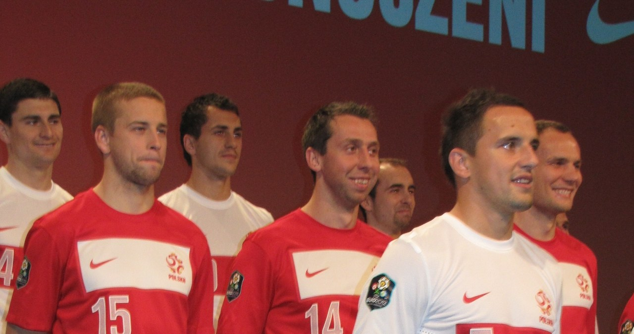 Piłkarze reprezentacji Polski mają nowe stroje