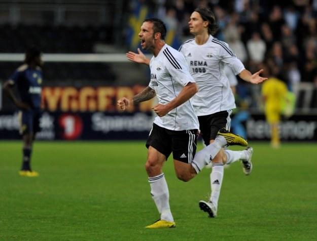 Piłkarze Rosenborga są w IV rundzie eliminacji /AFP