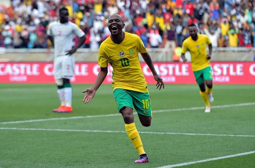Piłkarze RPA wygrali z Senegalem, ale wynik był wypaczony przez sędziego /AFP