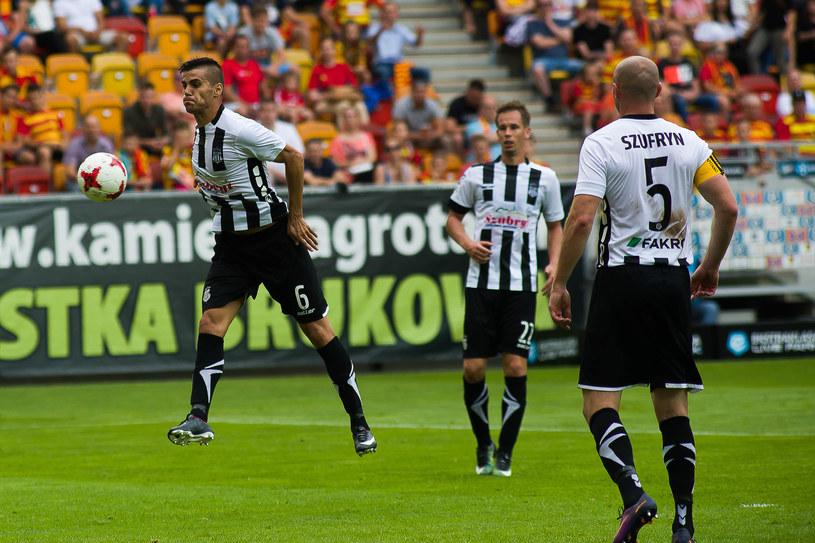 Piłkarze Sandecji Nowy Sącz mecze Ekstraklasy rozgrywają w Niecieczy /Wojciech Wojtkielewicz /East News