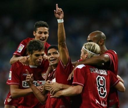 Piłkarze Sevilli sięgneli po Superpuchar Hiszpanii /AFP