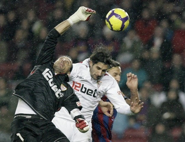 Piłkarze Sevilli znów zagrają na Camp Nou. Tym razem z Atletico Madryt w finale Pucharu Króla /AFP