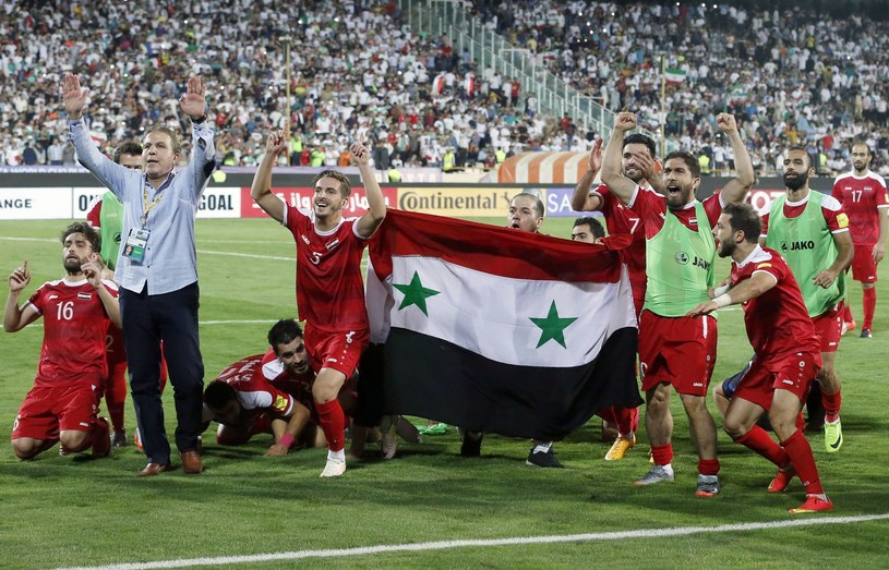 Piłkarze Syrii /AFP