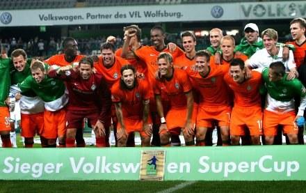 Piłkarze Werderu Brema zdobyli Superpuchar Niemiec /AFP