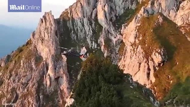 Pilot wykazał się olbrzymią odwagą i  umiejęnościami