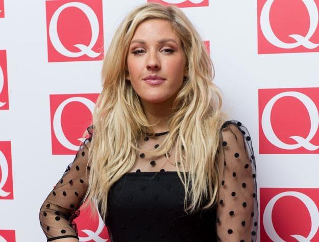"""Piosenkarka Ellie Goulding została wyróżniona przez """"Q"""" fot. Ian Gavan /Getty Images/Flash Press Media"""