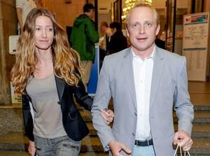Piotr Adamczyk i Kate Rozz pokazywali na Targach Książki, że ich związek ma się całkiem dobrze /    /Agencja W. Impact