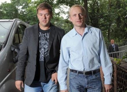 Piotr Adamczyk i Tomasz Karolak przyjaźnią się? /MWMedia