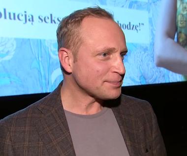 """Piotr Adamczyk o roli w filmie """"Sztuka kochania"""""""