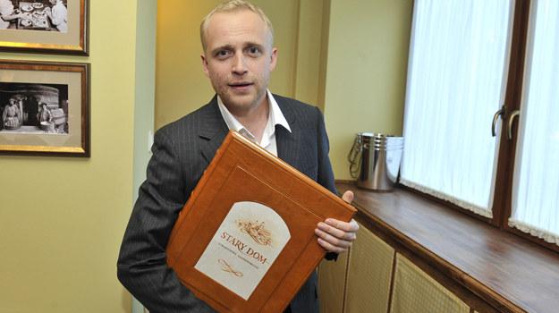 Piotr Adamczyk w 2009 roku otworzył restaurację Stary Dom /    /AKPA