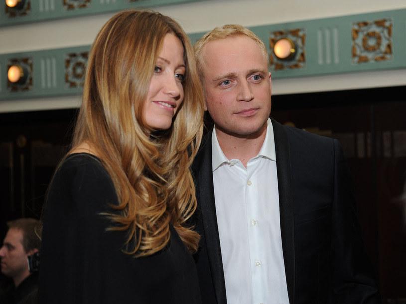 Piotr Adamczyk z Kate Rozz  /MWMedia