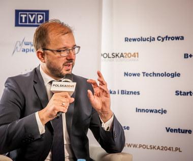 Piotr Dardziński, podsekretarz stanu w MNiSW w krynickim studiu Interii