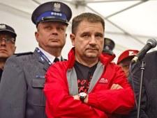 Piotr Duda na protestach z zegarkiem za grube pieniądze