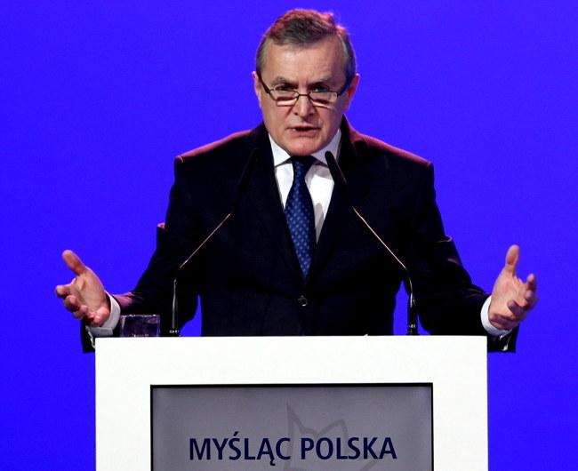 Piotr Gliński /PAP/Andrzej Grygiel    /PAP