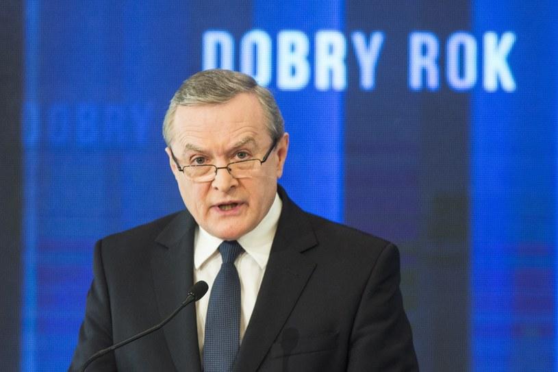 Piotr Gliński /Andrzej Hulimka  /Reporter