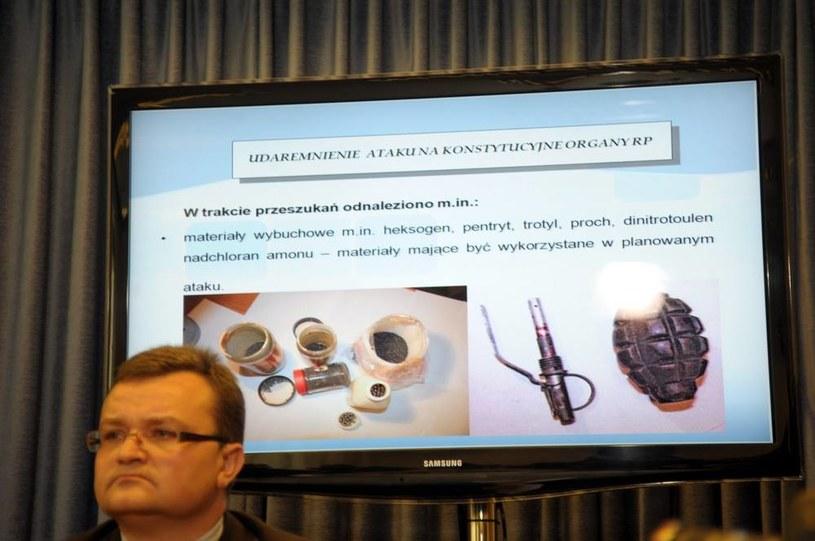 Piotr Kosmaty z ABW /Witold Rozbicki /Reporter