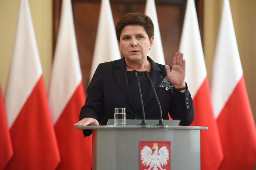 Piotr Matczuk i Anna Plakwicz byli pracownikami kancelarii premier Beaty Szydło /Zbyszek Kaczmarek /Reporter