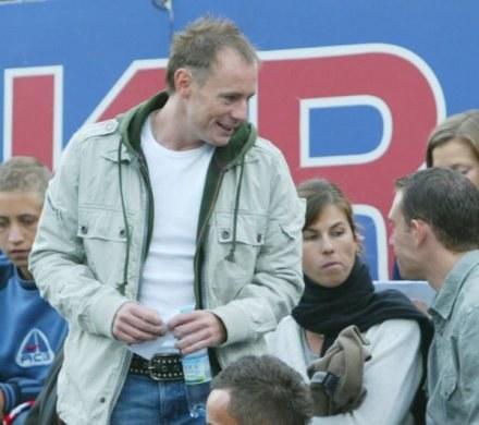 Piotr Reiss na trybunie honorowej stadionu Wisły, FOT. Tomasz Markowski /Agencja Przegląd Sportowy