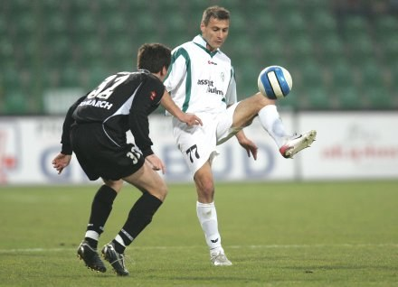 Piotr Świerczewski (z prawej)/Fot: Łukasz Grochala /Agencja Przegląd Sportowy
