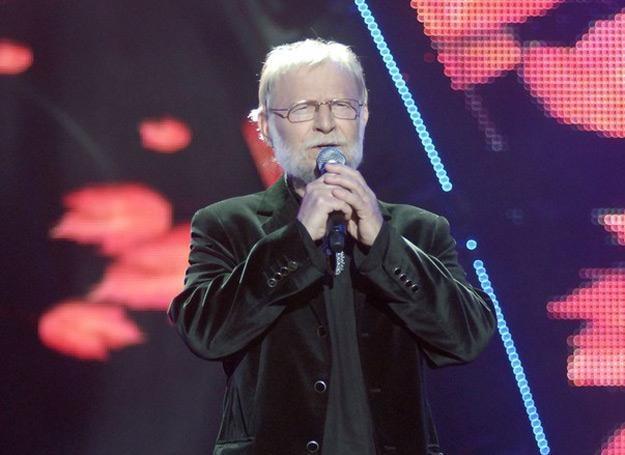 Piotr Szczepanik na festiwalu w Opolu w 2008 roku - fot. Mieczysław Włodarski /Reporter