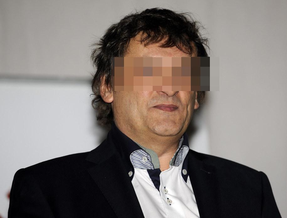 Piotr T. na zdjęciu z 2001 roku / Andrzej Rybczyński    /PAP