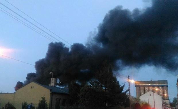 Piotrków Trybunalski: Pożar składowiska elektroodpadów