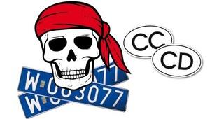 Piraci z niebieskimi tablicami
