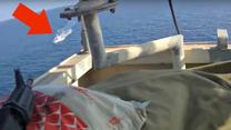 Piraci z Somalii kontra ochrona statku. Abordaż, ktory się nie udał