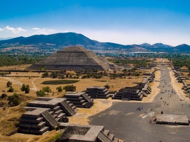 Piramida w Teotihuacan /123/RF PICSEL