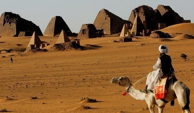 Piramidy w Sudanie /AFP