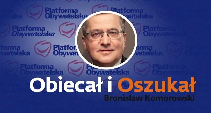 """PiS zaprezentował spot wyborczy pt. """"Obiecał i oszukał"""". /YouTube"""