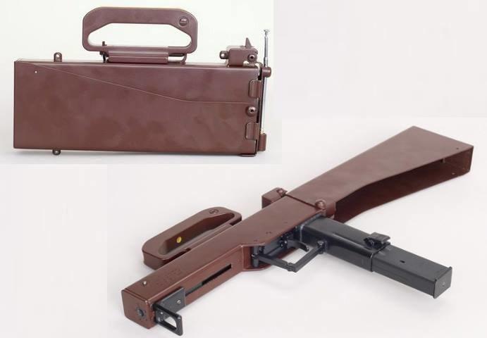 Pistolet maszynowy M-21 - po złożeniu wyglądał jak... przenośne radio /materiały prasowe
