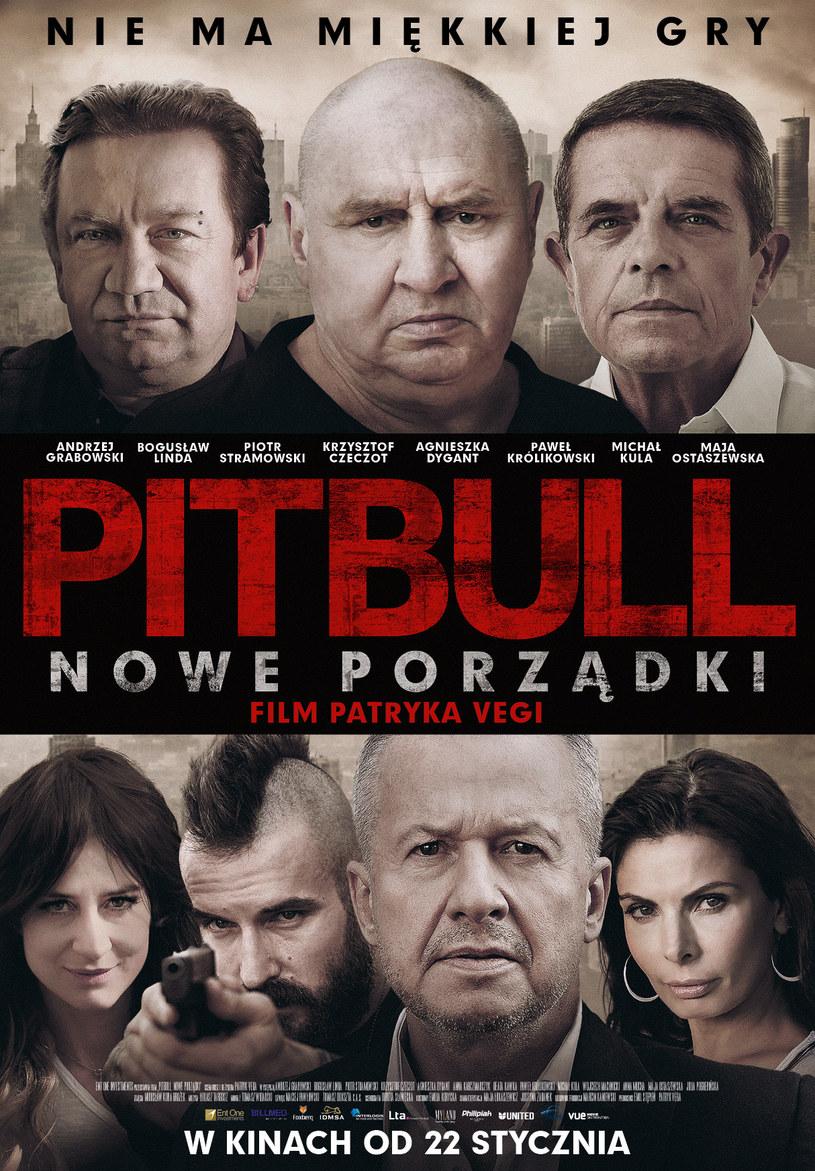 """""""Pitbull. Nowe porządki"""" trafi do kin 22 stycznia /materiały dystrybutora"""