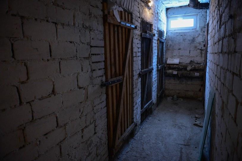 Piwnica, w której Trynkiewicz trzymał ciała chłopców przed wywiezieniem ich do lasu /Adam Staśkiewicz /East News