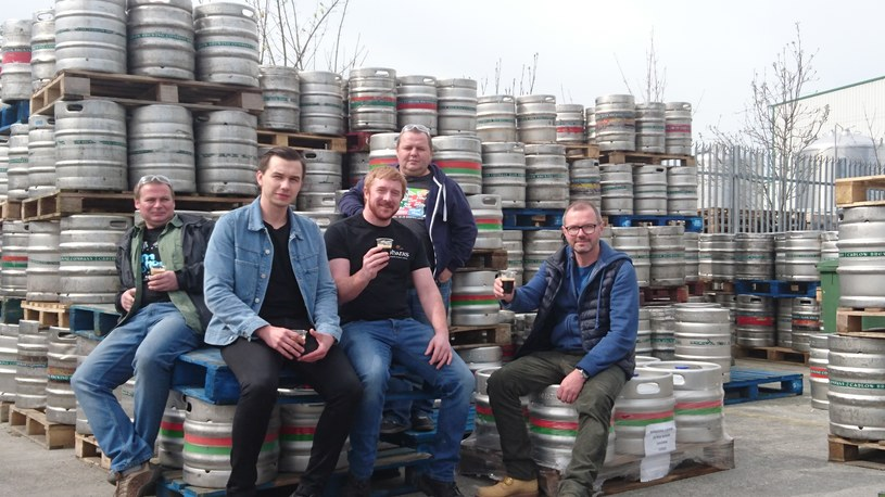 Piwowarzy z Pinty i O'Hara's Brewing Company smakują Lublin to Dublin /materiały prasowe